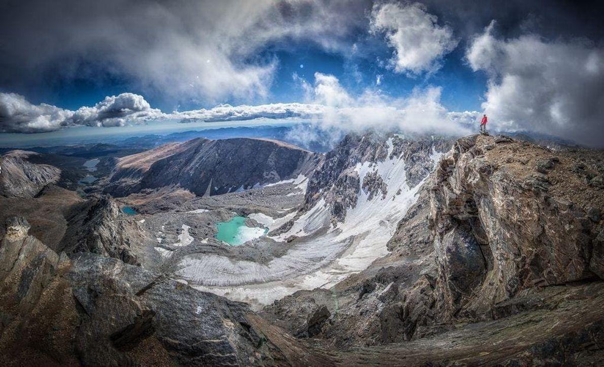 El pico North Arapahoe es el punto más alto del Indian Peaks Wilderness. No solo puedes ...