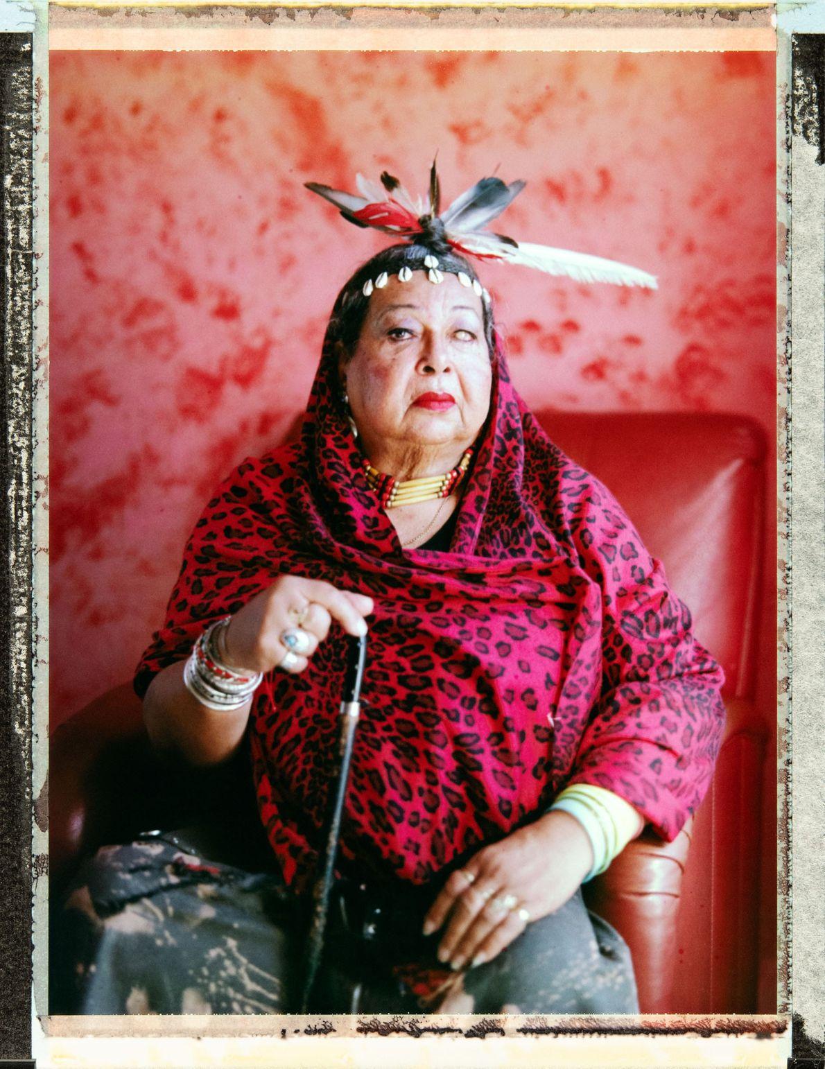 Victoria Cruz, 73, veterana de los disturbios de Stonewall