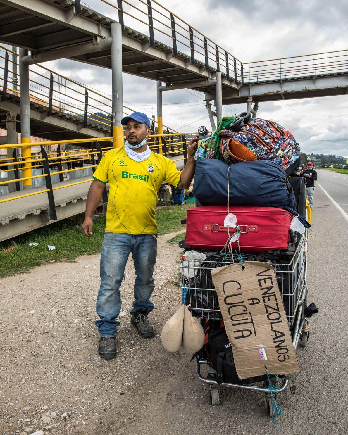 Originario del estado de Carabobo, en Venezuela, Jolver Jurado había estado trabajando como carpintero en Bogotá ...