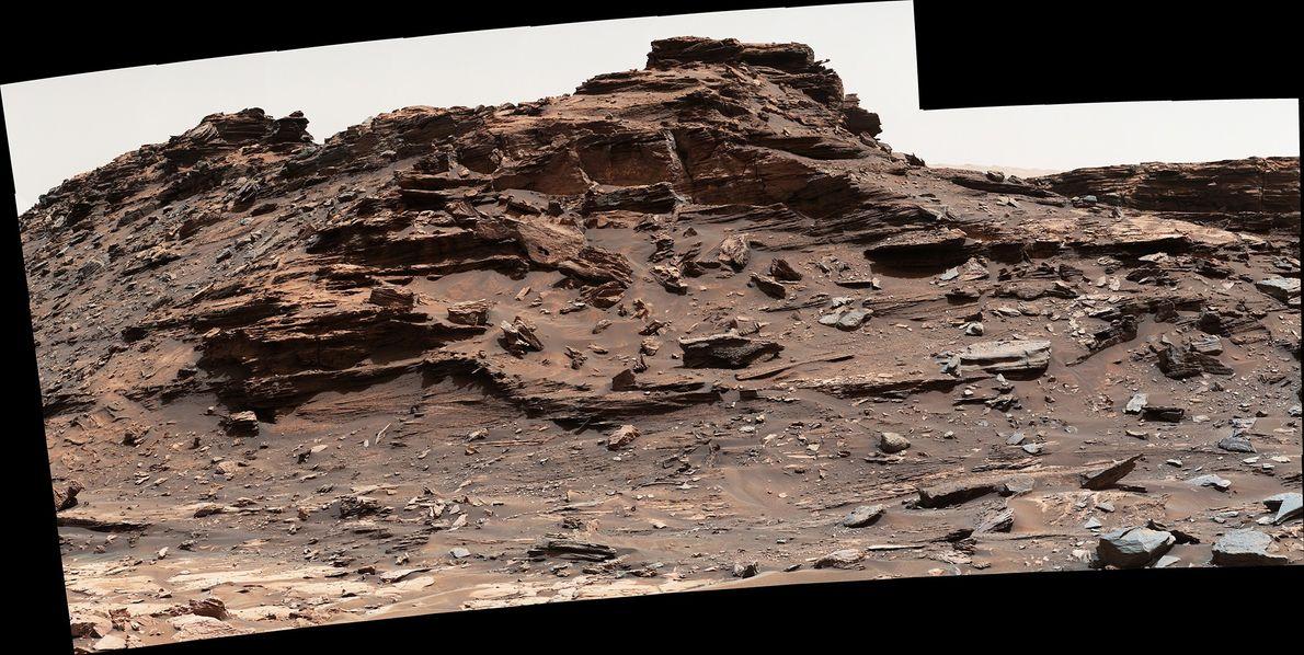 En el área de Murray Buttes, se asignaron números a cada cerro y meseta. Esta se ...