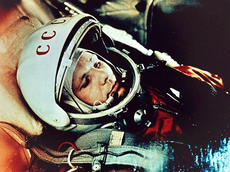 Yuri Gagarin: Fotos del primer vuelo espacial tripulado por el ser humano