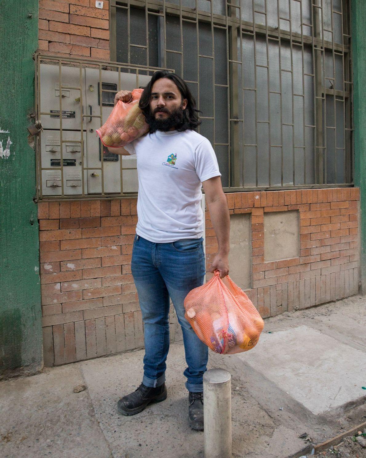 Hace aproximadamente tres años, Camilo Gutiérrez cofundó la Fundación Casa de los Sueños, en Unir II, ...