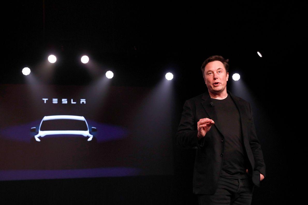 Elon Musk fundó Tesla Motors en el año 2003, llevando los autos eléctricos a la vanguardia ...