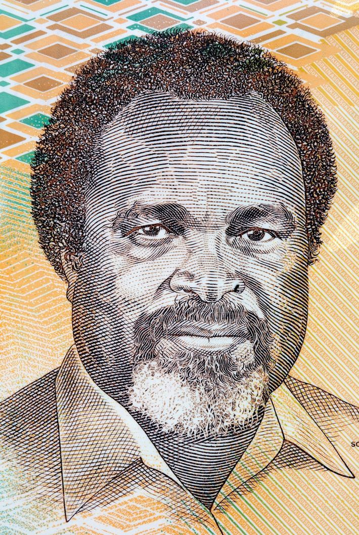 """Celebrado como el """"padre de la nación"""", Michael Somare fue un político que lideró el impulso ..."""