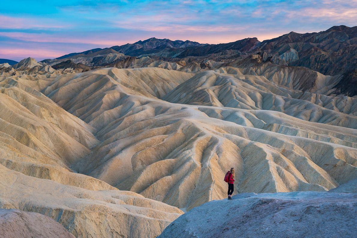 El Parque Nacional Death Valley, en la fotografía, está listo para crecer en el 2019 después ...