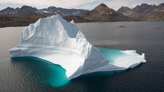 Un iceberg en Groenlandia (imagen de archivo).