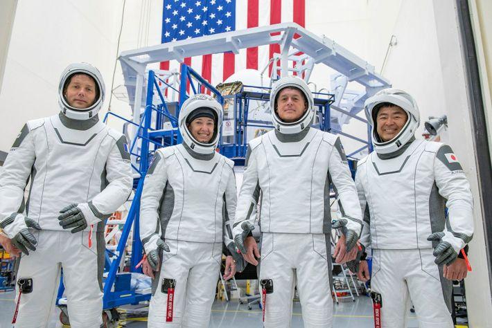 NASA's SpaceX Crew-2