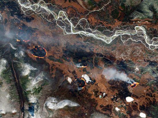 """Los incendios """"zombis"""" del Ártico están vinculados al cambio climático"""