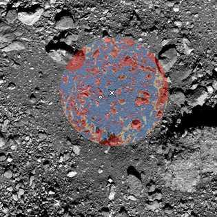 Como la OSIRIS-REx no puede capturar partículas de más de dos centímetros de diámetro, el equipo ...