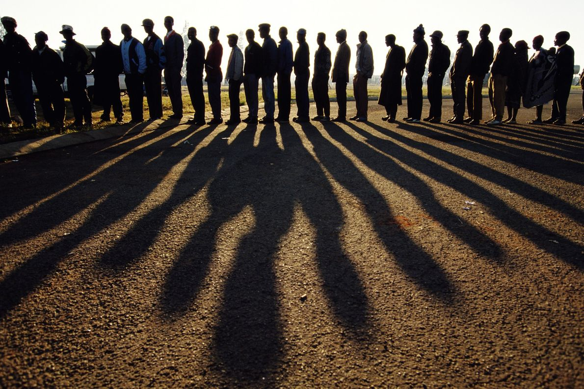 South Africa's First Multiracial National Election