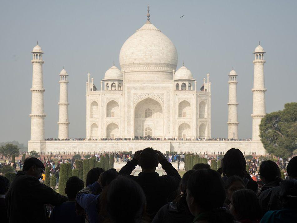 Taj Mahal: imágenes de un Patrimonio de la Humanidad