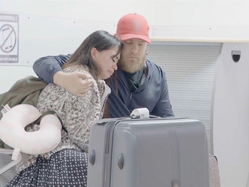 Una luna de miel sale mal   Alerta Aeropuerto Roma