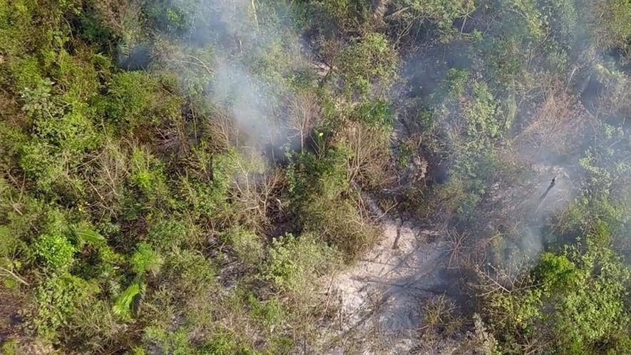 """Los incendios de la Amazonia son """"mucho peores que antes"""", dicen los lugareños"""