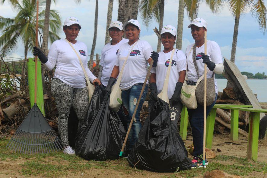 """Imagen de las jornadas de limpieza de 2018 en Colombia. (Gentileza del movimiento """"Vamos a Hacerlo, ..."""