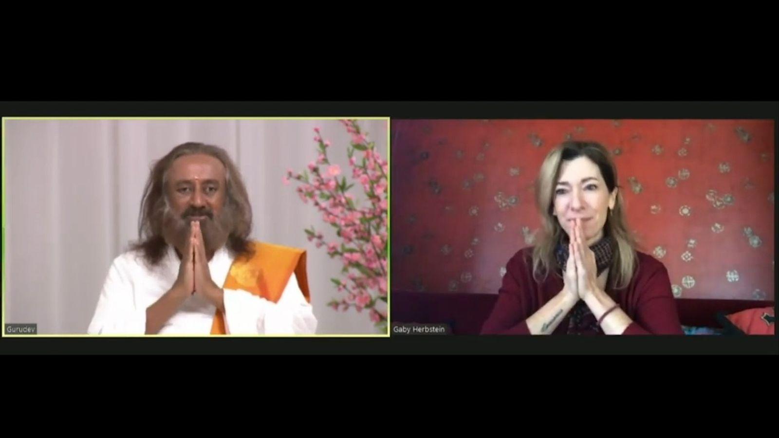 Creer para Ver: Entrevista de Gaby Herbstein a Sri Sri Ravi Shankar