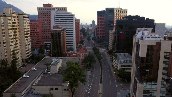 Coronavirus: Así se ven las calles de Bogotá, Colombia, durante la cuarentena