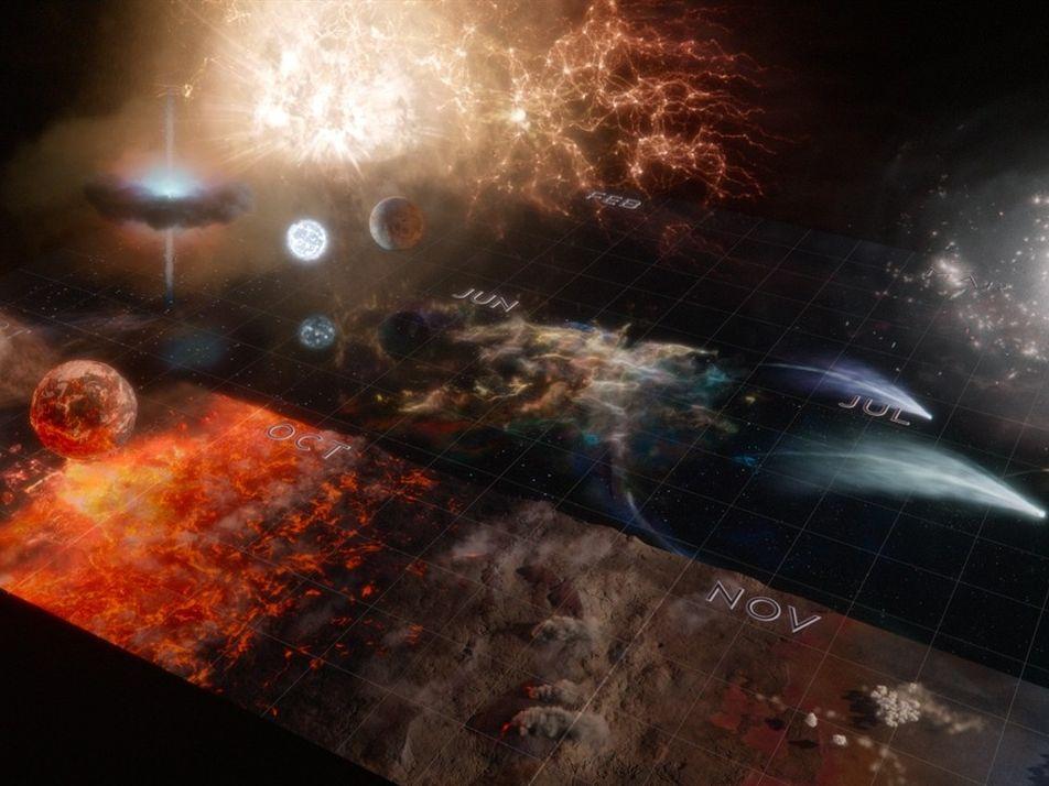 El Calendario Cósmico | Cosmos: Mundos Posibles