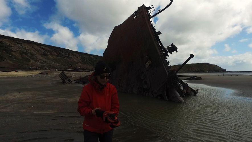Rescatando la historia de un naufragio