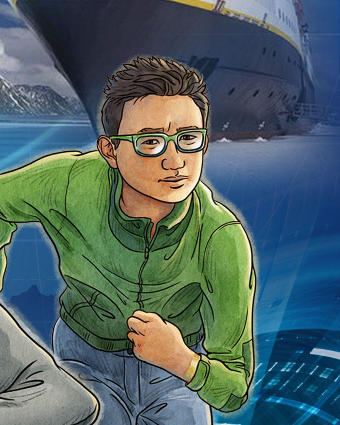 Emmett Lu Emmett es el compañero de habitación de Cruz en la Academia de Exploradores, un canadiense ...