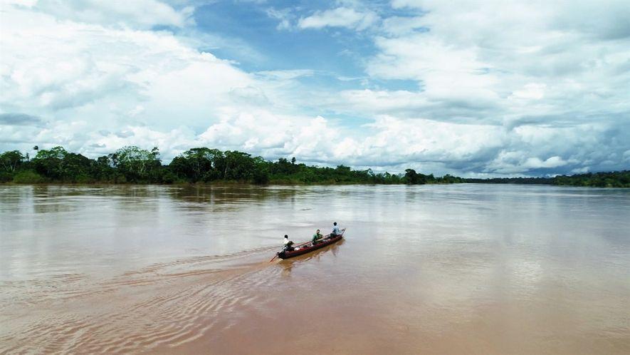 Explorer: Si caes en este río del Amazonas peruano, es poco probable que salgas con vida