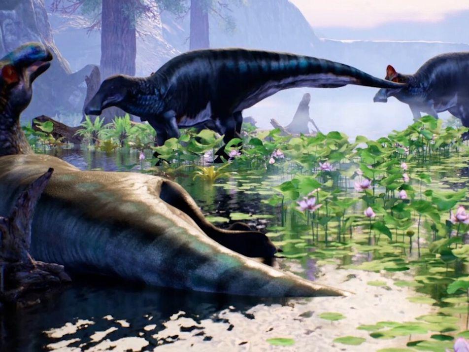 Mira esta reconstrucción 3D del Edmontosaurus