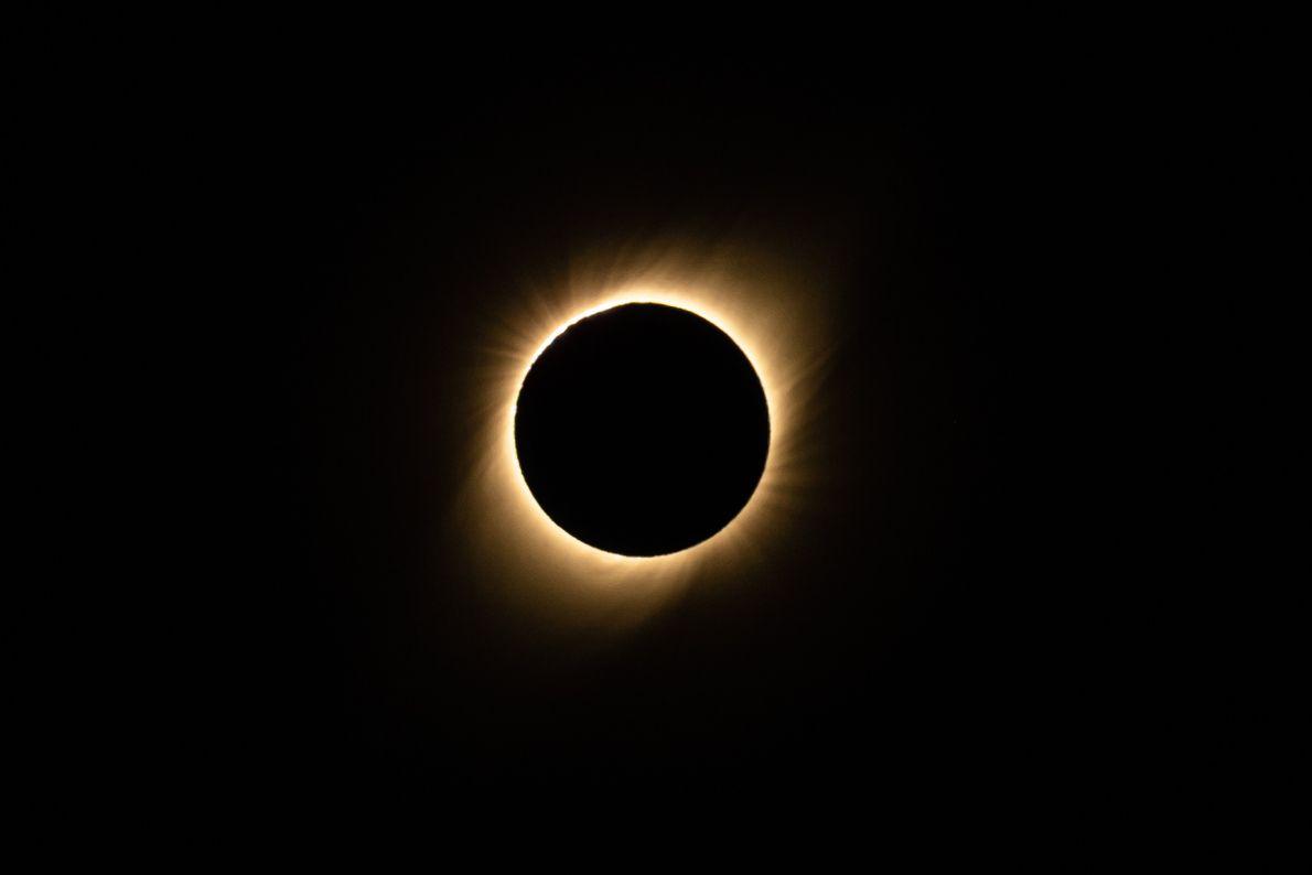 Eclipse solar total - 2 de julio de 2019 - Chile.