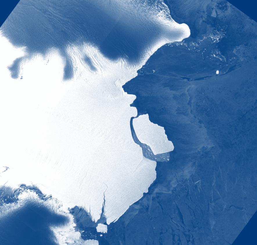 Un iceberg gigante se ha desprendido del frente de la plataforma de hielo Amery. Bautizado como ...