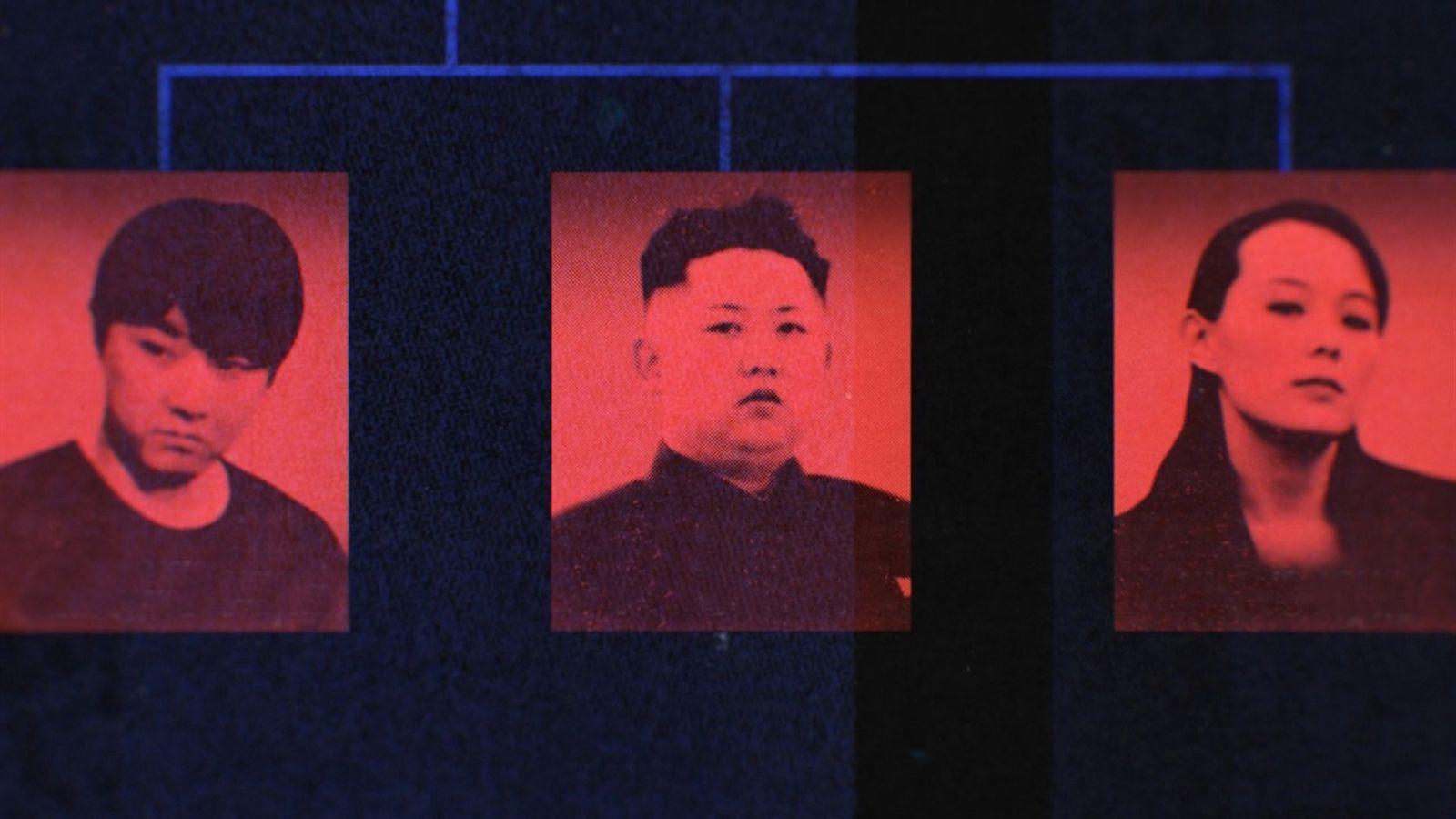 Kim Jong-un y sus cuatro hermanos