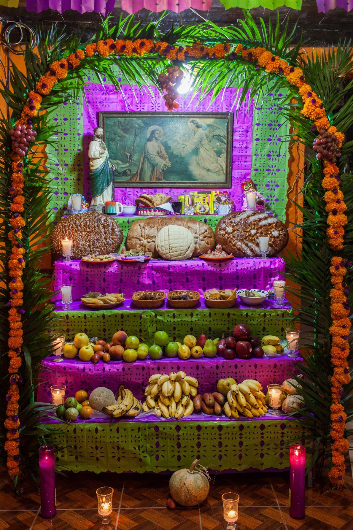"""Altares de Naolinco, Veracruz, México, 2016 - """"El pueblo de Naolinco, en el Estado de Veracruz ..."""