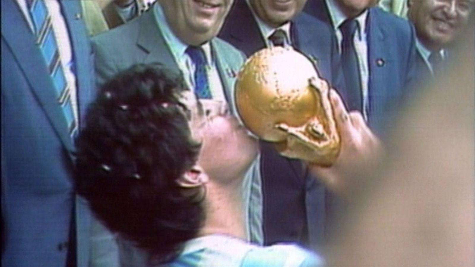 Maradona Confidencial: Lecciones de fútbol