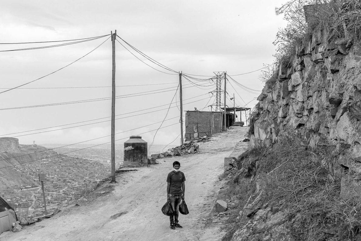 """""""Las indicaciones de aislamiento social obligatorio fueron impuestas por el gobierno peruano el 16 de marzo. ..."""