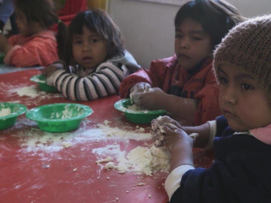 Nutriendo el Futuro: El enfoque en los niños