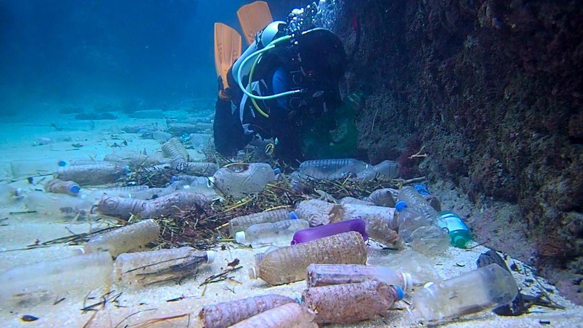 Esta es la cantidad de desechos plásticos que se tiran en nuestro planeta