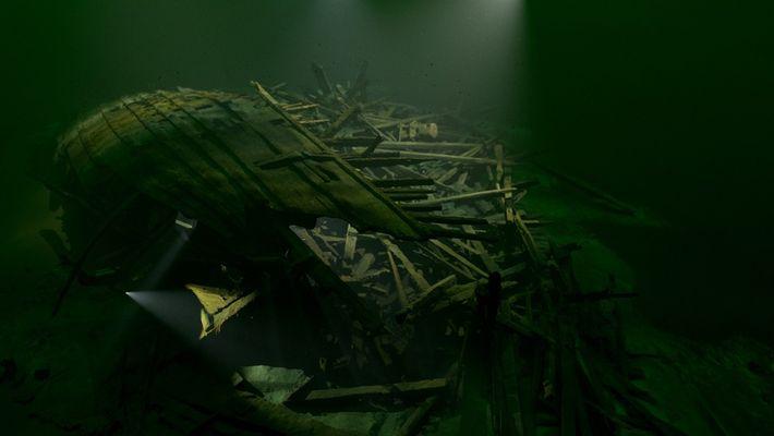Una animación 3D revela detalles del poderoso buque de guerra, Mars