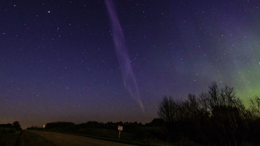 STEVE, un nuevo tipo de aurora de rayas púrpuras
