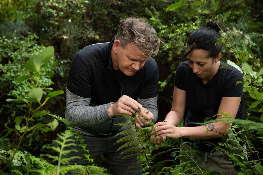 Gordon Ramsay explora el sur de Nueva Zelanda