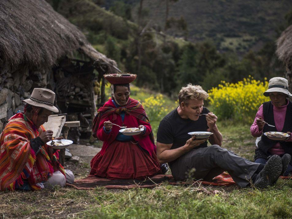 Las aventuras de Gordon Ramsay en el Valle Sagrado de Perú