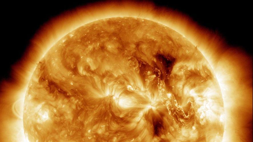 El centro de nuestro sistema solar