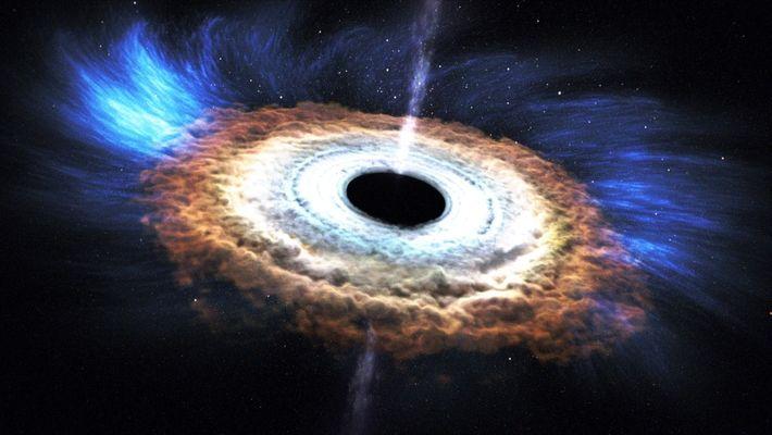¿Cómo se forma un agujero negro?