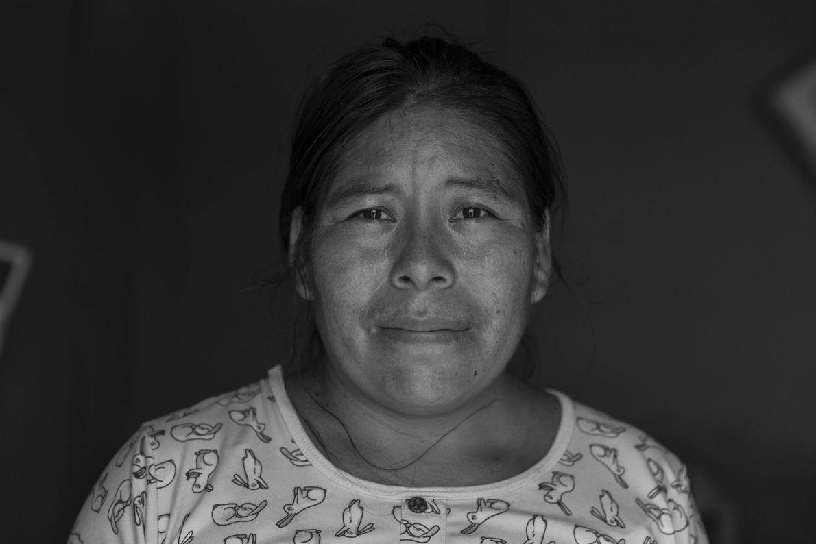 """""""Esperanza Chaqpi vive en la zona de 'Proyecto Integral Santa Rosa' con su esposo y tres ..."""