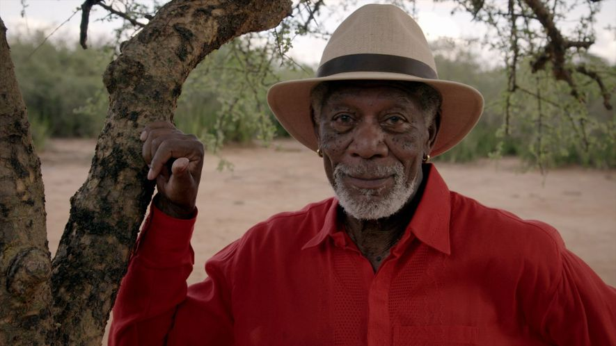 Morgan Freeman busca lo que une a la humanidad