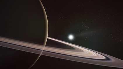 Saturno, el planeta más liviano y el segundo más grande