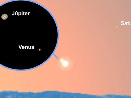 ¿Cómo ver la conjunción de Venus y Júpiter el 11 de febrero?