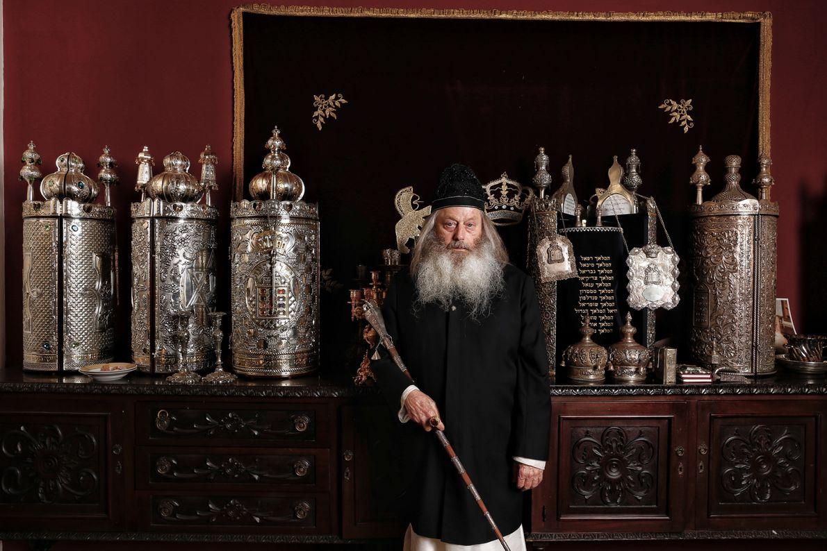 El gran rabino de Malta es reconocido mundialmente por su sabiduría y por ser un poderoso ...