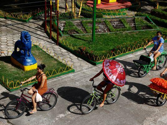 Afuá, la ciudad de las bicicletas en la Amazonía brasileña