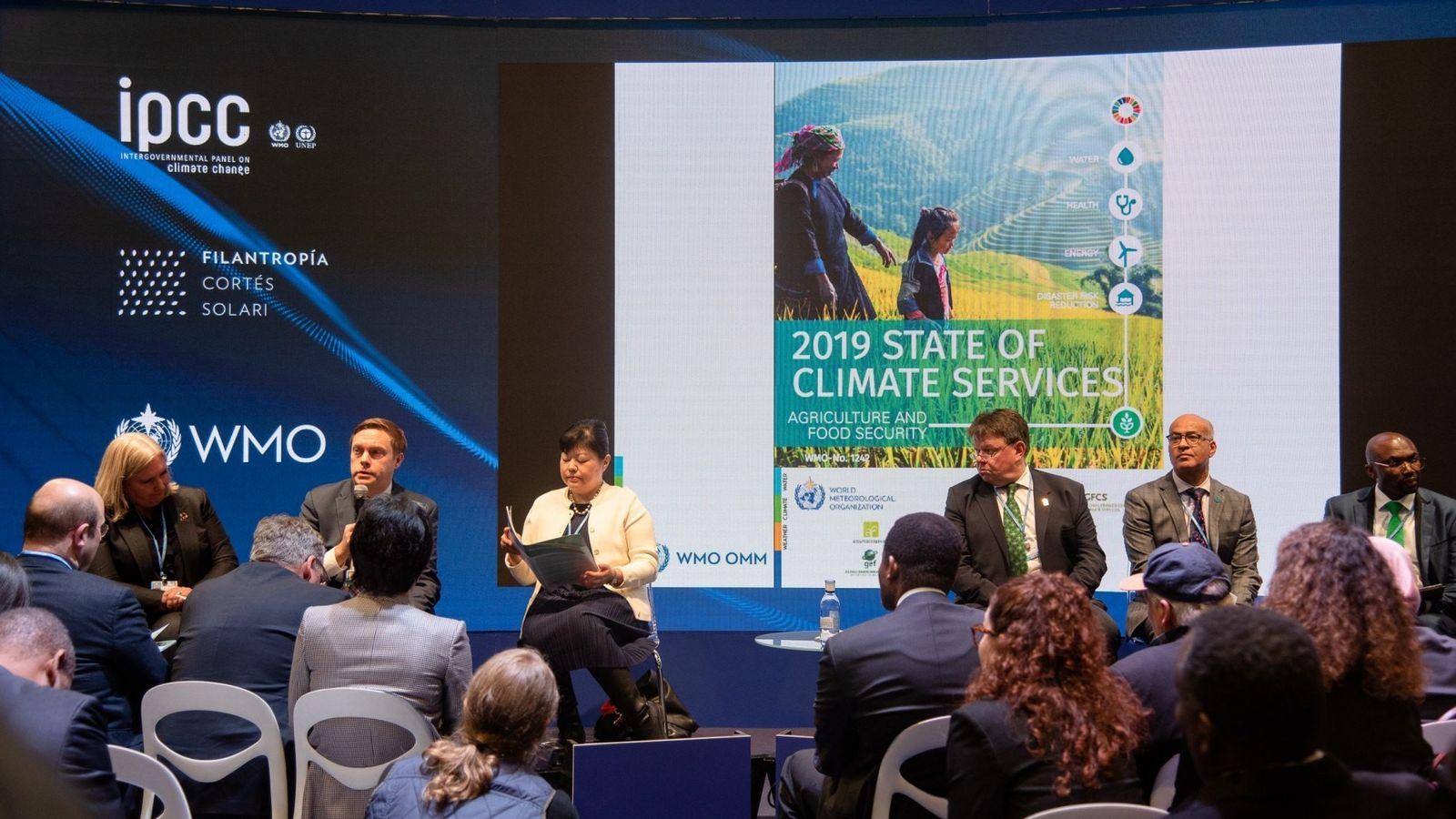 Con motivo de la celebración de la COP25 en Madrid, la WMO ha presentado un análisis ...