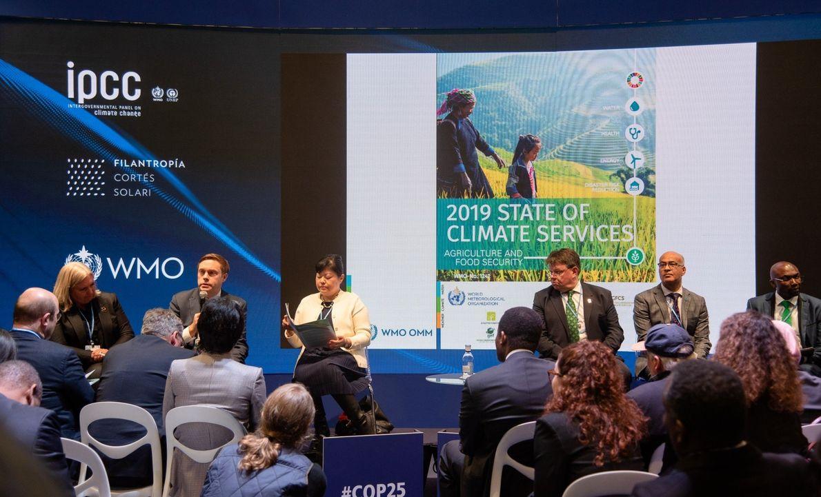 La Organización Meteorológica Mundial alerta sobre el grave estado global del clima en la COP25