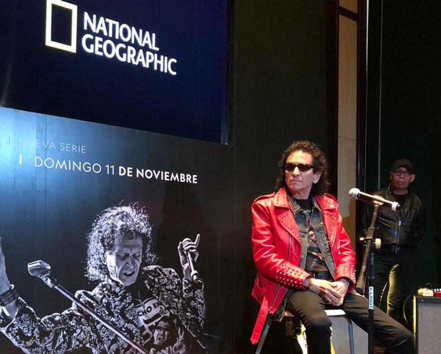 Alex Lora presentó su primera biografía autorizada de la mano de National Geographic