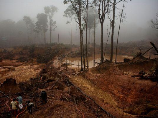 La minería del oro en la Amazonía aumenta la malaria entre los pueblos indígenas