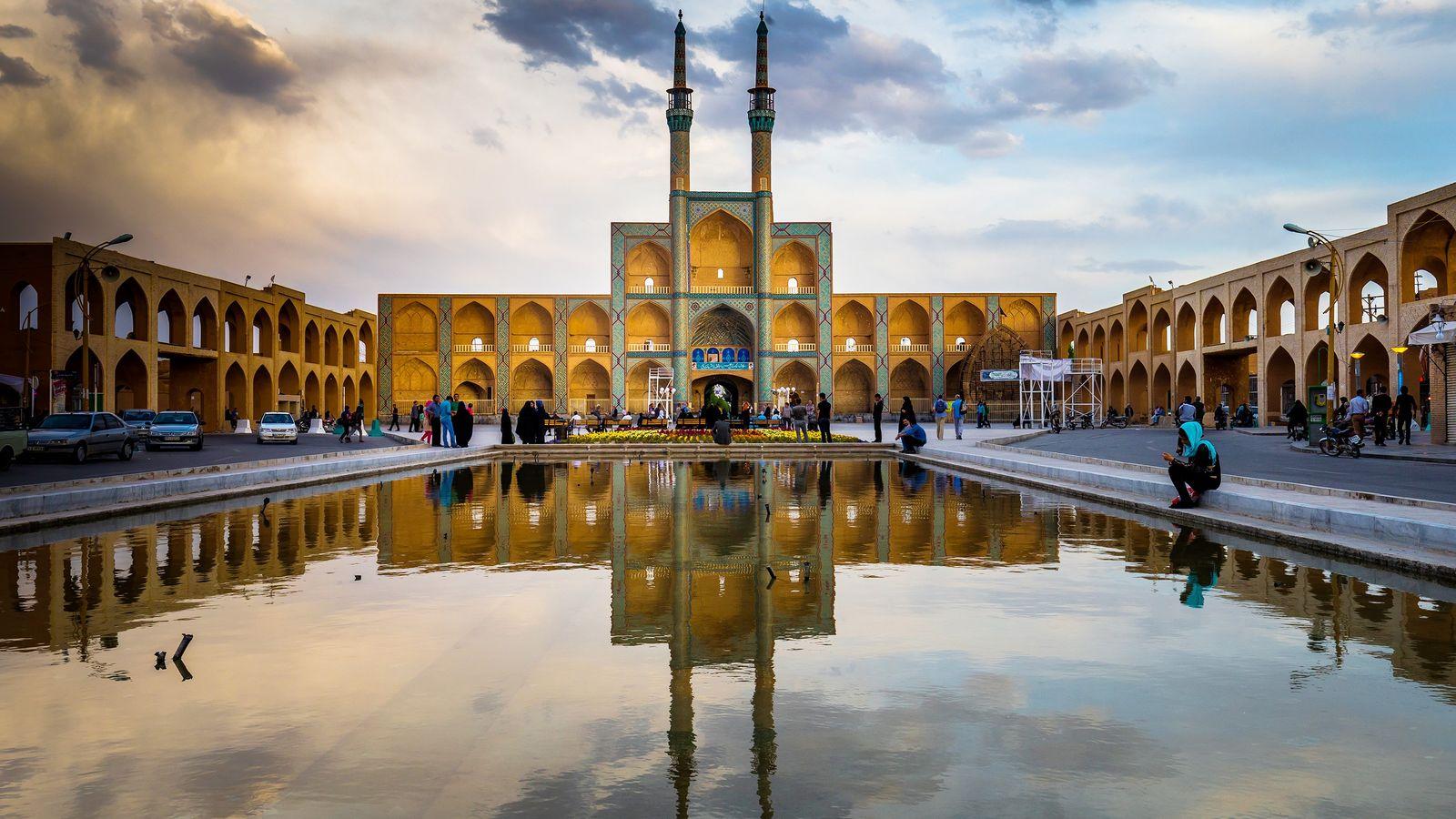 En 2017, la ciudad iraní de Yazd, donde habitan más de medio millón de personas, fue ...